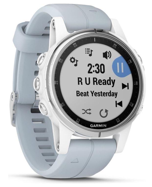 Garmin Fenix 5S Plus GPS-Multisport-Smartwatch mit Seafoam Armband für nur 399,- Euro inkl. Versand