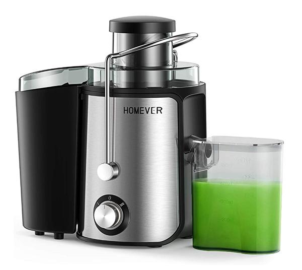 Homever Entsafter für Obst und Gemüse mit 500ml Kanne für nur 19,49 Euro
