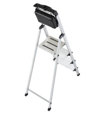 Krause Stufen-Stehleiter Secury mit MultiGrip-System und 8 l System-Eimer nur 59,99 Euro
