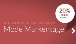 Nur noch heute: 20% Extra Rabatt auf über 7000 Produkte bei den Engelhorn Mode Markentagen