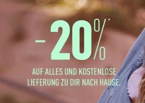20% auf die gesamte Kollektion bei Pimkie sowie kostenloser Versand