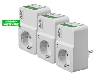 3er Pack APC PM1WU2 Essential SurgeArrest für nur 24,90 Euro inkl. Versand