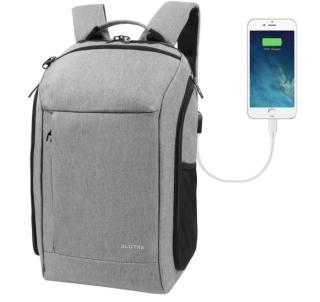 SLOTRA 25L Business Rucksack mit USB-Ladeanschluss und Laptopfach bis 15,6″ für 17,50 Euro
