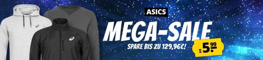 Asics Mega Sale bei Sportspar mit bis zu 85% Rabatt