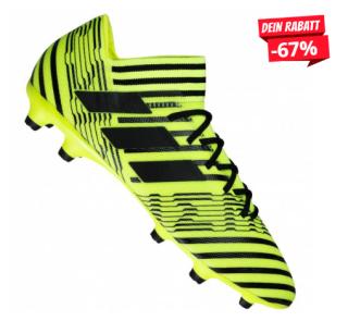 Adidas Nemeziz 17.3 FG Herren Fußballschuhe S80602 für nur 33,94 Euro inkl. Versand