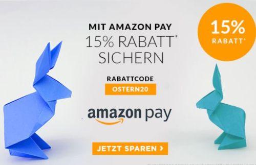 Nur noch heute: 15% Rabatt bei Engelhorn auf viele ausgewählte Artikel bei Zahlung mit Amazon Pay