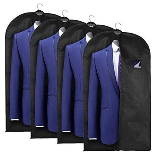 4er-Pack esonmus Kleiderhülle Anzugsack für nur 9,91 Euro bei Amazon