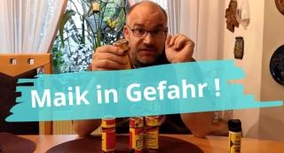 """Neue Folge """"Maik in Gefahr"""" bei Gadgetwelt.de – Maik testet die Helpme Reizgas-Granate und das Sinist Pfefferspray"""