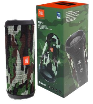 JBL Flip 4 Camouflage Bluetooth Lautsprecher für nur 64,90 Euro inkl. Versand