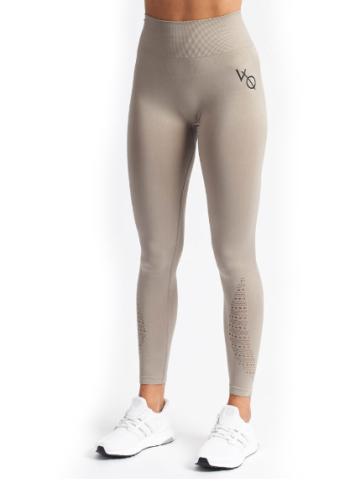Vanquish Virtue Seamless Damen Fitness Leggings Khaki für nur 11,99 Euro