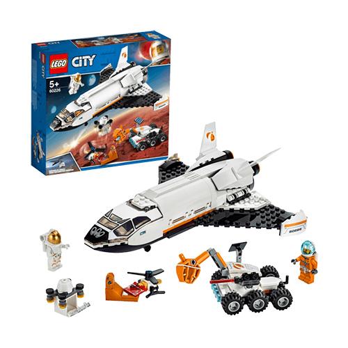 LEGO 60226 Mars-Forschungsshuttle Bausatz für nur 14,99 Euro inkl. Versand