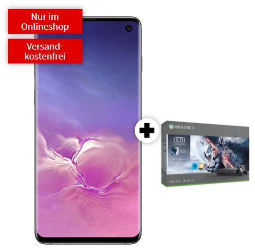 MD Vodafone green LTE mit 16 GB Daten für mtl. 36,99 Euro + SAMSUNG Galaxy S10 & Microsoft Xbox One X 1TB – Star Wars Jedi: Fallen Order für einmalig 99,- Euro