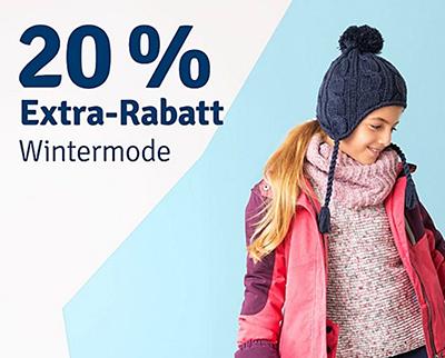 20% Extra-Rabatt auf Wintermode im myToys Onlineshop