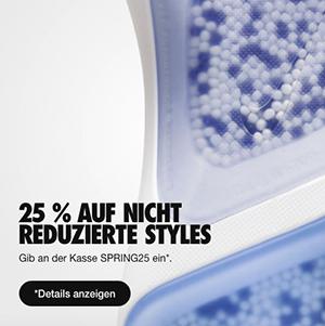 25% Rabatt auf reguläre Artikel im Nike Online Shop