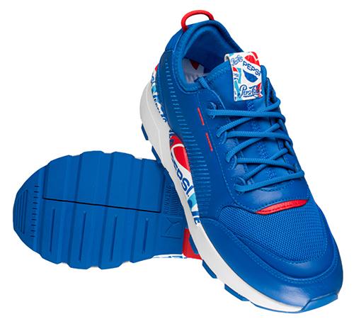 PUMA RS-0 x Pepsi Sneaker (Größe 40 – 43) für nur 29,20 Euro inkl. Versand