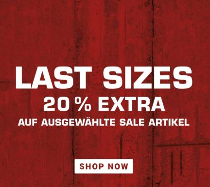 Sichert euch bis zu 20% Extra Rabatt auf ausgewählte Sale Artikel bei Snipes