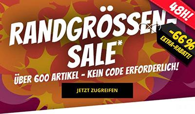 Nur noch bis 11 Uhr:  66% Extra-Rabatt auf über 600 Artikel im SportSpar Mega-Sale