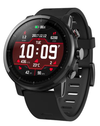 AMAZFIT Stratos Smartwatch (Silikon, 195 mm, Black) für nur 99,- Euro inkl. Versand (statt 145,- Euro)