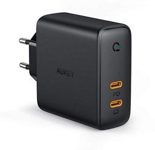 Abgelaufen! Aukey PA-D5-DE 60W USB Typ C Schnellladegerät für 14,99 Euro