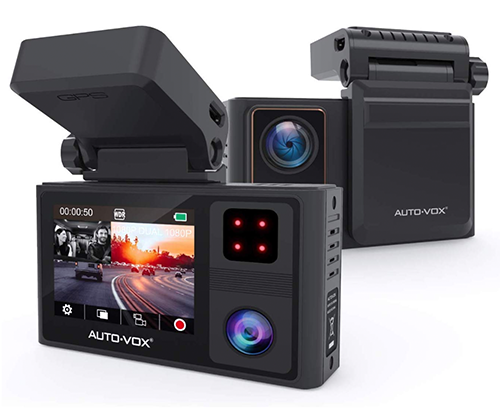 AUTO-VOX Dashcam mit zwei Full-HD Kameras für nur 88,89 Euro bei Amazon