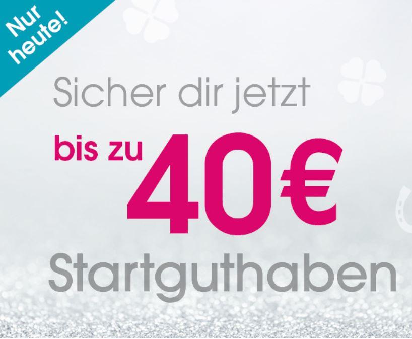 Nur heute: Bis zu 40,- Euro Rabatt auf (fast) das gesamte Sortiment im Babymarkt Onlineshop