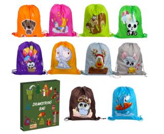 10er Pack Cartoon-Bags für nur 7,49 Euro