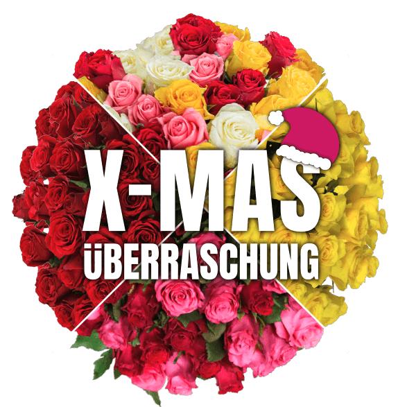 """Blumenstrauß Rosenüberraschung """"XMas Edition"""" mit 40 Blüten für nur 24,98 Euro inkl. Lieferung"""