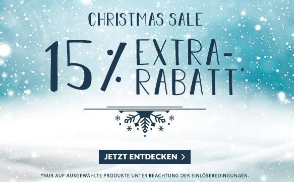 Engelhorn Christmas Sale mit 15% Rabatt auf viele