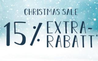 Engelhorn Sports Christmas Sale mit 15% Rabatt auf viele Artikel