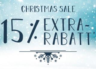 Engelhorn Christmas Sale mit 15% Rabatt auf viele ausgewählte Artikel