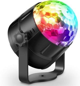 Haofy LED Discolicht mit Fernbedienung für 8,99 Euro bei Amazon