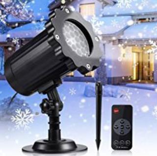 Wieder da: Eecoo LED Projektionslampe für Innen und Außen (IP65) nur 14,99 Euro bei Amazon