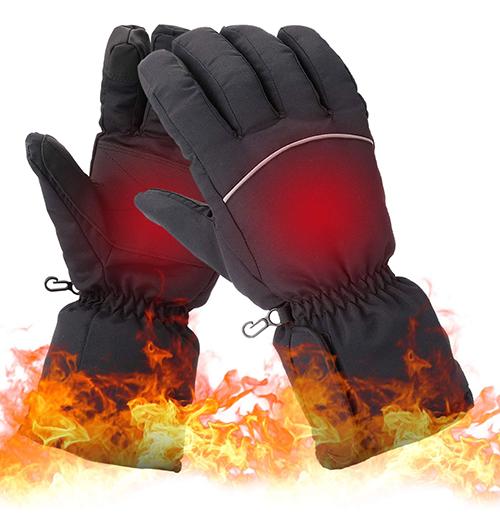 Elektrisch beheizbare Lixada Handschuhe für nur 16,99 Euro bei Amazon
