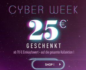 Sichert euch 25,- Euro Rabatt auf den gesamten Einkauf bei Pimkie (MBW: 70,- Euro)