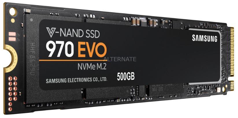 Samsung 970 EVO 500 GB NVMe SSD für nur 81,89 Euro inkl. Versand (statt 99,- Euro)