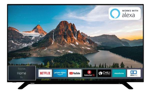 Toshiba 43U2963DG Smart TV (43 Zoll, 4K Ultra HD, Dolby Vision HDR, Triple Tuner) für nur 263,95 Euro inkl. Versand