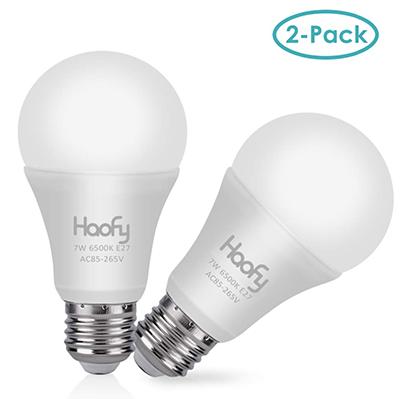 2x Haofy Smart LED Glühlbirne (E27) mit Dämmerungssensor für nur 9,99 Euro bei Amazon
