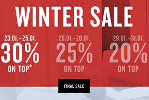 25% Extra-Rabatt im Tom Tailor Wintersale