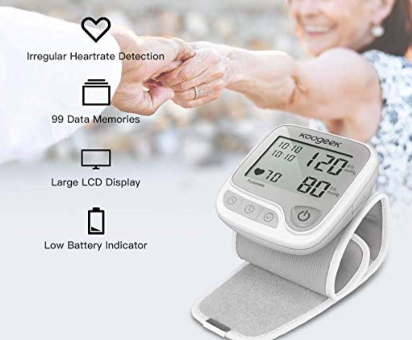 Koogeek Smart Bluetooth Handgelenk Blutdruckmessgerät für nur 11,99 Euro