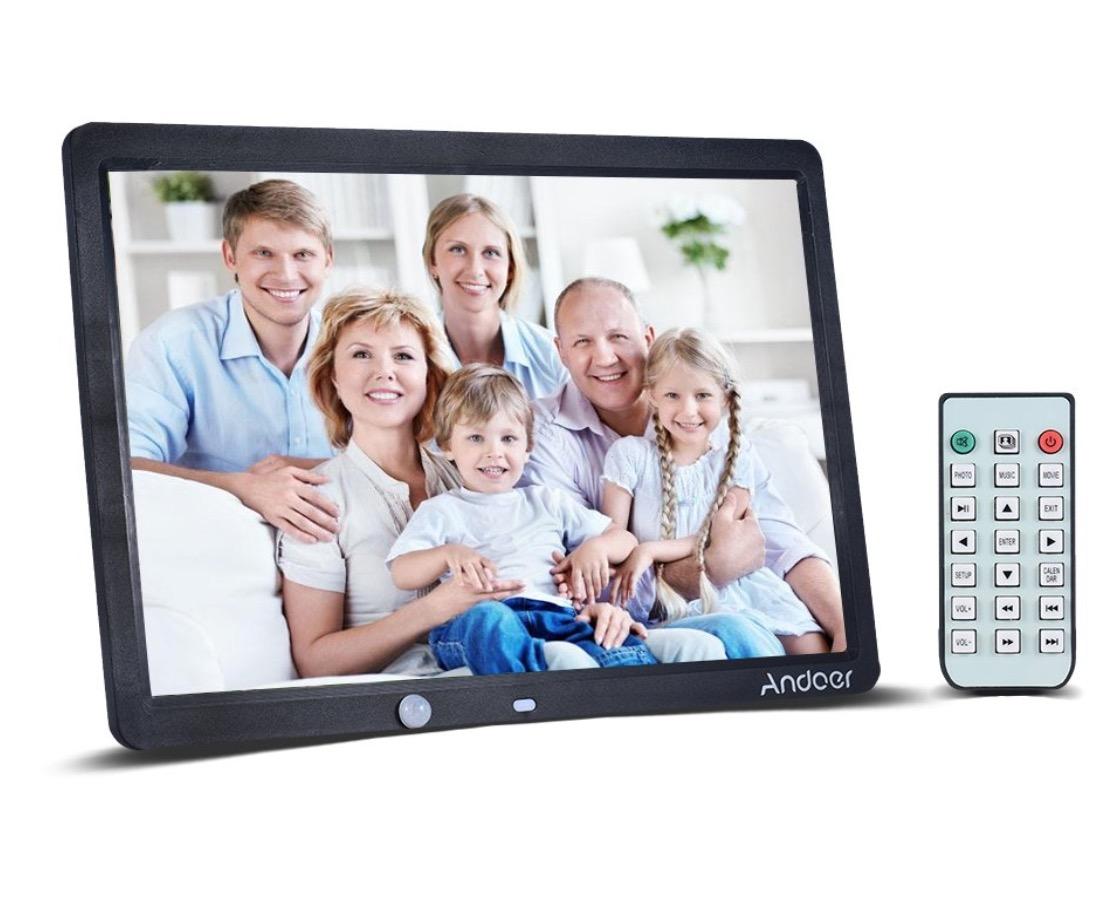 Andoer Digitaler Bilderrahmen mit 15 Zoll für nur 33,19 Euro inkl. Versand
