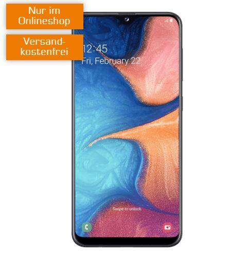 Super Select S Allnet-/SMS-Flat mit 3GB für mtl. 9,99 Euro + Samsung Galaxy A20e für nur einmalig 9,- Euro