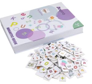 Buchstaben Lernset von Anpro (magnetisch) für nur 7,50 Euro inkl. Prime-Versand