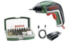 Bosch IXO V Akku-Schrauber 3.6V 1.5Ah Li-Ion inkl. Akku, inkl. Zubehör für nur 33,- Euro inkl. Versand