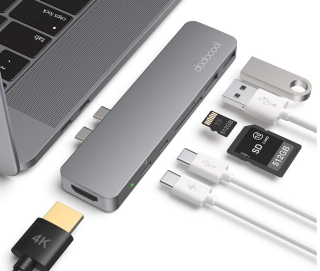 Dodocool 7-in-1 USB-C Hub mit HDMI und Kartenleser für Macbook Pro und Macbook Air nur 22,99 Euro