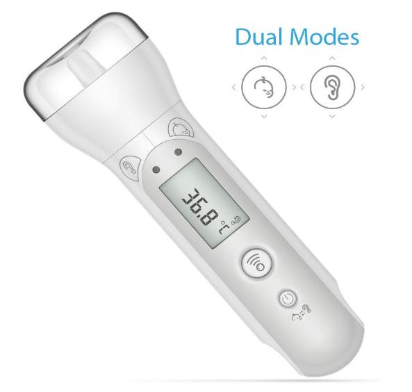 Koogeek Infrarot Digitales Fieberthermometer (Bluetooth) für nur 11,99 Euro inkl. Prime-Versand