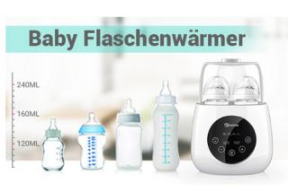 Elektrischer EIVOTOR 6-in-1 Baby-Flaschenwärmer für 22,13 Euro statt 36,89 Euro