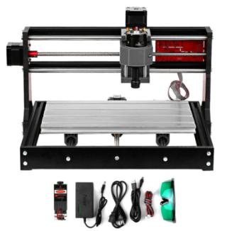 CNC3018 Pro 5.5W Fräs- und Lasergraviermaschine für 214,88 Euro inkl. Versand