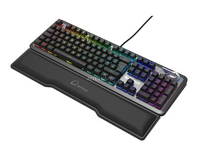 Gaming-Tastatur QPAD MK-95 (mit optischen Switches – Linear und Clickly) für nur 156,89 Euro (statt 192,- Euro)