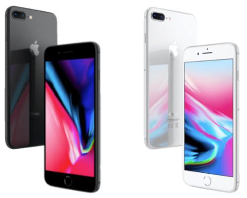 APPLE iPhone 8 Plus 256 GB in versch. Farben für nur 599,- Euro