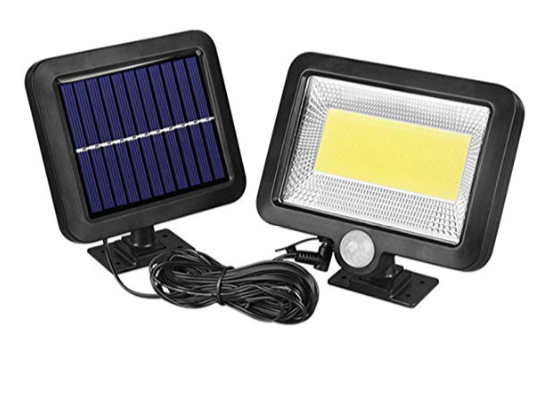 Solarlampen für außen (mit Bewegungsmelder) für nur 12,99 Euro inkl. Prime-Versand